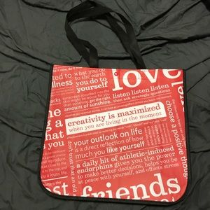 NEW! LULULEMON ATHLETICA Large Shopping Tote Bag